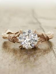 nature inspired engagement rings adelia nature inspired engagement ring ken design