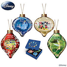 disney dazzling dreams illuminated glass tree ornament