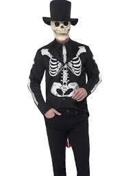dia de los muertos costumes skeleton dia de los muertos costume for men adults costumes and