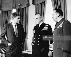 president kennedy lord mountbatten and chief lemnitzer pictures