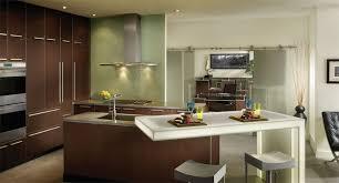 modern kitchen design wood mode cabinets kitchen modern wood mode kitchen adjoining office with city view