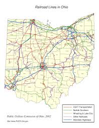 Map Of Sandusky Ohio by Ohio Railroad Map U2013 Wyandot County Economic Development