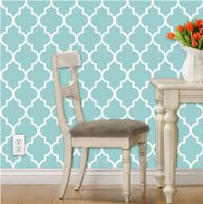 self adhesive wallpaper blue classic wallpaper blue and white quatrefoil by willow