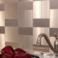 Steel Tile Backsplash by Kitchen Stainless Steel Backsplash Tiles Pictures Ideas From Hgtv