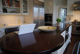 Wood Countertops Kitchen by Wood Countertop Finish Butcher Block Countertops Care Guide