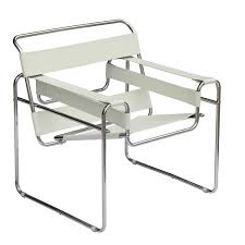 Style Chairs Mod Imports Wassily Style Tubular Steel Chair By Marcel Breuer In