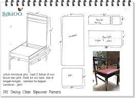 Dining Chair Cover Pattern Dining Chair Slipcover Pattern Large And Beautiful Photos Photo