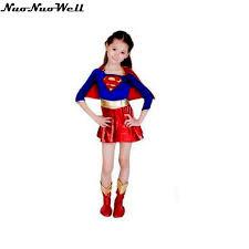 Superman Halloween Costume Popular Halloween Costume Girls Superman Buy Cheap Halloween