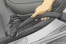 How To Repair Car Upholstery Fabric How To Clean The Upholstery In A Car Yourmechanic Advice