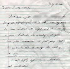 village idiot savant excuse letter