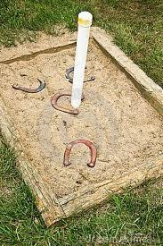 How To Build A Horseshoe Pit In Your Backyard Best 25 Horse Shoe Pit Ideas On Pinterest Cheap Driveway Ideas