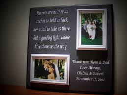 wedding gift ideas from parents parents wedding gift of of thank you parents are