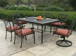 Solana Bay 7 Piece Patio Dining Set by Plain Patio Furniture 7 Piece Set Dining N For Design Ideas