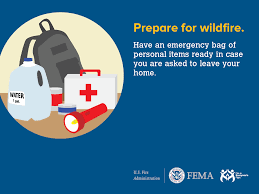 Elgin Oregon Wildfire by Prepare For Wildfire With Safety Advice From The U S Fire Admin
