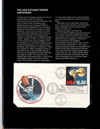 the sts 8 challenger flight cover usps nasa mint condition