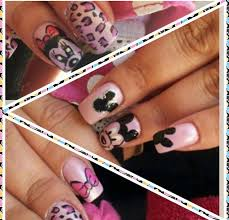 mickey and minnie mouse nail art nail art gallery