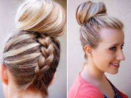 braided updos for long hair