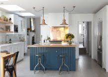 Copper Penny Tile Backsplash - 20 copper backsplash ideas that add glitter and glam to your kitchen