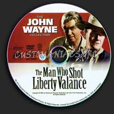 The Man Who Shot Liberty Valance Online The Man Who Shot Liberty Valance Dvd Label Dvd Covers U0026 Labels