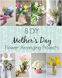 s day flowers 8 diy flower arranging projects for s day wallflower kitchen