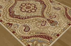 Brown Paisley Rug Rugs On Sale Transitional Ivory Paisley Rug Rugsale