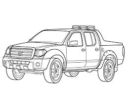 pick up truck coloring pages 9804