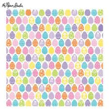 Hobby Lobby Easter Yard Decorations by Easter Eggs Scrapbook Paper 12