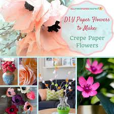 How To Make Easy Paper Flowers For Cards - 269 best how to make paper flowers images on pinterest diy paper
