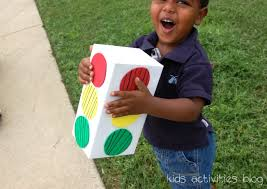 How To Play Red Light Green Light Red Light Green Light With Monster Trax Kids Activities Blog