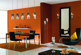 Orange Color In Your Dining Room Why Not - Orange dining room