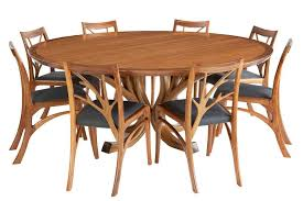 custom round dining tables modern mid century custom made to order contemporary dining suite