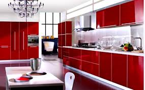 bathroom red cabinets in kitchen black and red cabinets in