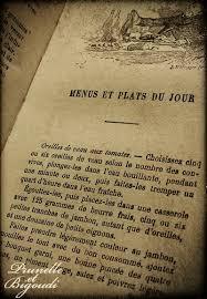 livre de cuisine ancien livre ancien pour la cuisine de 1926 prunelle et bigoudi