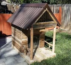 Rabbit Hutch From Pallets Custom Large Pallet Dog House Can Convert Into Kids Playhouse