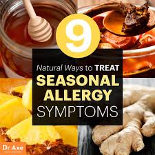 natural ways to treat seasonal allergy symptoms dr axe