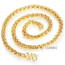 byzantine necklace images Byzantine necklace yellow gold filled mens chain necklace solid jpg