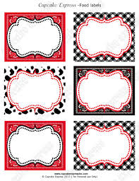 cowboy birthday party printable food labels baby pinterest