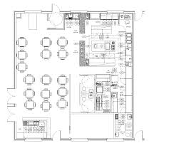 kitchen elegant mexican restaurant kitchen layout floor plan