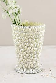pearl vase fillers covered mint julep vase 4 5