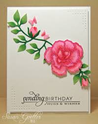 Sketch Birthday Card Susan Goetter Birthday Greetings And A Sketch