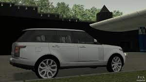 land rover voque land rover range rover vogue for gta san andreas