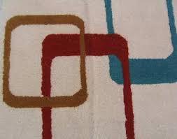 mid century modern rug blast 6 u0027x9 u0027 hand tufted area rug