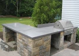 outdoor kitchen countertop ideas impressive decoration outdoor countertops 1000 ideas about