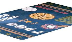 Sports Area Rug Wonderful All Sports Basketball Soccer Large Area Rug Floor Accent