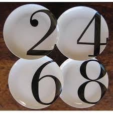 Home Decor Boutiques Online Number Dinner Plates Set By Christopher Jagmin Spark Living