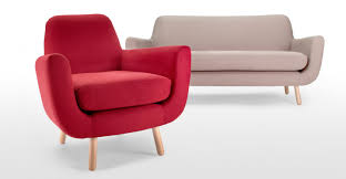 Esszimmerst Le Trend 2015 Jonah 3 Sitzer Sofa In Beerenrot Made Com Made Com
