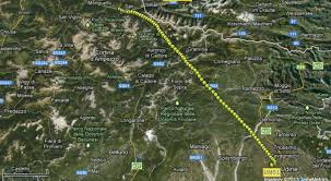 Aviano Italy Map by Alps 2013 Ultramagic Experience