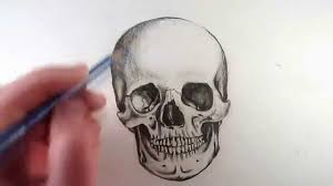 how to draw a skull narrated by