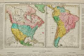 1820 Map Of United States by 1820 Original Lavoisne Antique Map Of North South America Mexico
