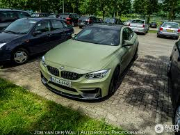 green bmw bmw versus performance m4 f82 coupé 28 june 2015 autogespot